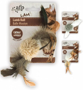 AFP All For Paws Natural Instincts Toys Lamb Ball