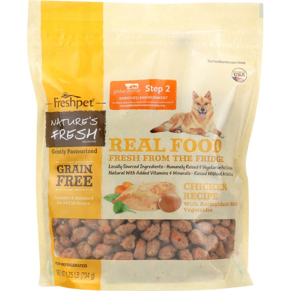 Freshpet Nature's Fresh® Dog Grain Free Chicken (1.75lb - 3lb) (Must Be Home 1-9PM)