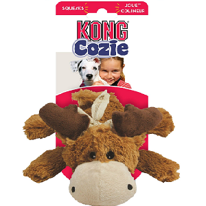 KONG Cozie Marvin the Moose Dog Toy (Small)