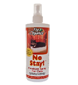 NaturVet Pet Organics No Stay! Furniture Spray for Cats 16oz Bottle