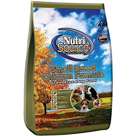 Nutrisource Grain Free Small Breed Adult Chicken Dry Dog Food 5lb - Qualifies for No Minimum Order +Ship Free in Yuba City