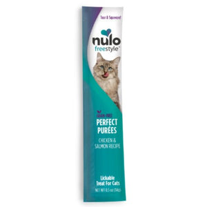 Nulo FreeStyle Cat Grain-Free Chicken & Salmon Puree Sachet Cat Treat 0.5oz