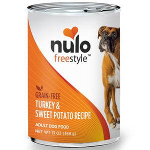 Nulo Freestyle Turkey & Sweet Potato Recipe Canned Dog Food 13oz