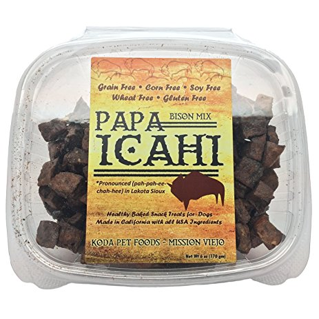 Papa Icahi Bison Treat 6oz