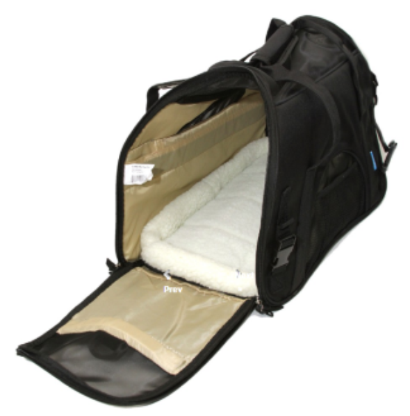 Oxgord Pet Carrier With Fleece Bed Most Airline Approved