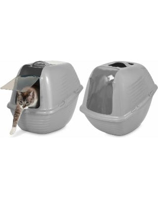 Petmate Hooded Litter Pan Stay Fresh - Large (Color Varies)