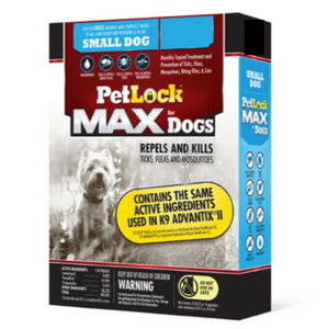 PetLock® MAX Flea & Tick Treatment for Dogs 5-10 Lbs