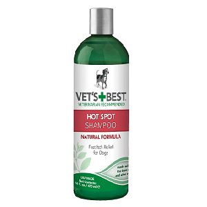 Vet's Best Hot Spot Shampoo for Dogs 16oz Bottle