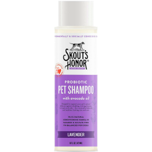 Skout's Honor Probiotic Lavender Pet Shampoo 16-oz bottle