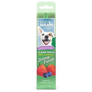 Tropiclean Clean Teeth Gel Fresh Berry Breath 2 oz
