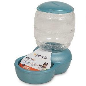 Petmate Pearl Replendish Feeder With Microban 2lb (Blue)