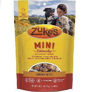 Zuke's Mini Naturals Chicken Recipe Dog Treats (6oz - 1lb) Bag
