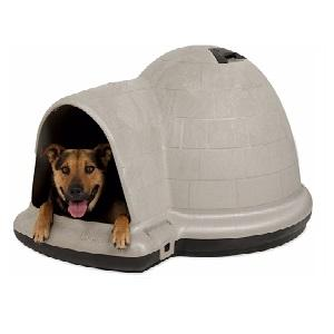 Petmate Indigo Igloo Dog House Medium (25 - 50lb)