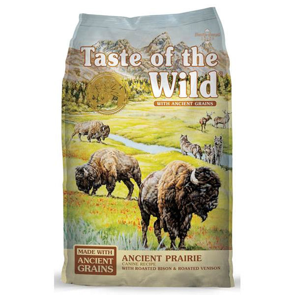 Taste of the Wild Dry Dog Food Ancient Grains High Prairie