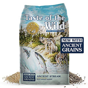 Taste of the Wild Dry Dog Food Ancient Grains Pacific Stream