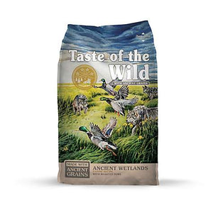 Taste of the Wild Dry Dog Food Ancient Grains Wetlands