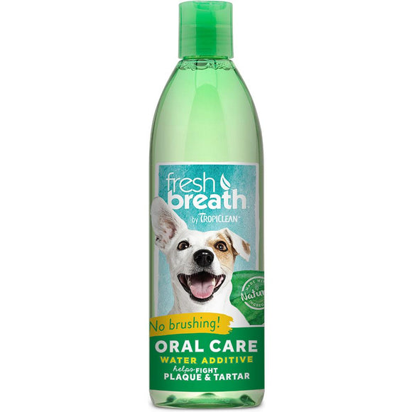 Tropiclean Fresh Breath Water Additive 16 oz Bottle