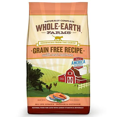 Whole Earth Farms Grain Free Recipe with Salmon & Whitefish Dry Dog Food 25lb