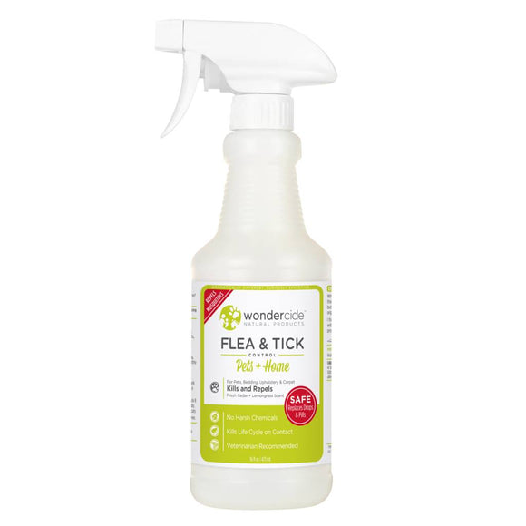 WonderCide Flea & Tick Spray Lemongrass (4oz - 32oz)