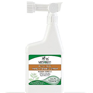 Vet's Best Flea + Tick Yard & Kennel Spray for Dogs & Cats 32oz Bottle