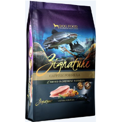 Zignature Catfish Limited Ingredient Formula Grain-Free Dry Dog Food (MAP Enforced-In Store Purchase May Have Lower Price.)
