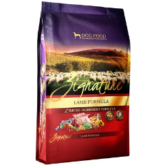 Zignature Lamb Limited Ingredient Formula Grain-Free Dry Dog Food (MAP Enforced-In Store Purchase May Have Lower Price.)