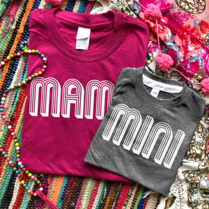 Shipping Dept. Mama & Mini Tees (KIDS SIZE - Dark Heather Gray)