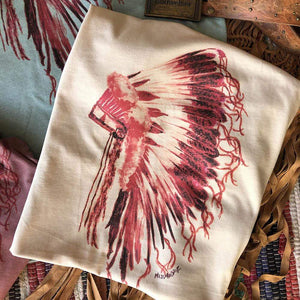 Indian Headdress - 5 COLOR OPTIONS