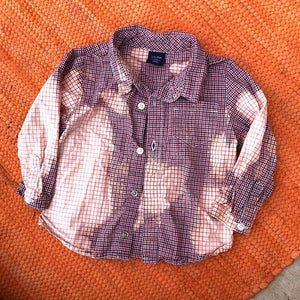 TODDLER 12-18 Month Plaid