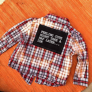 TODDLER 24 Month Plaid