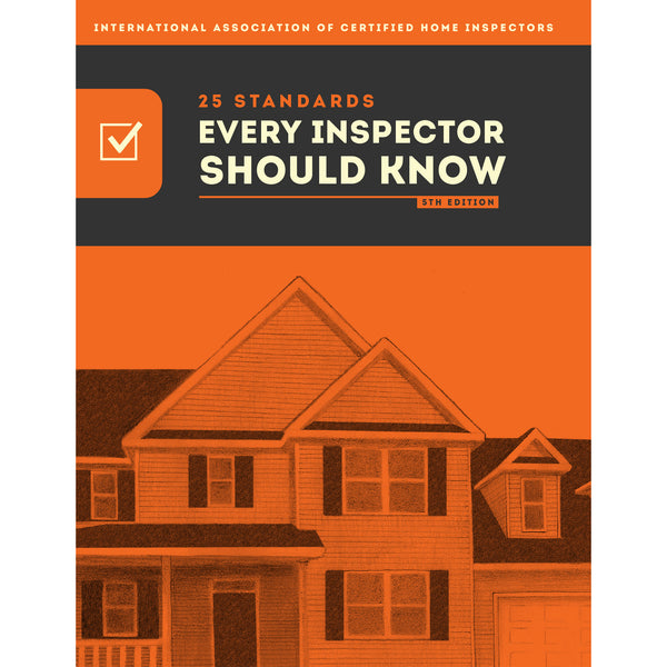 25 Standards Every Inspector Should Know Book