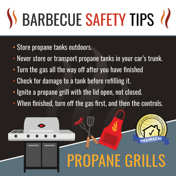 BBQ Safety Flyer PDF & Social Media Graphics