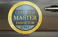 Certified Master Inspector® Vehicle Magnets