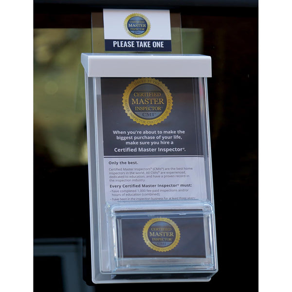 CMI® Auto Window Brochure and Business Card Holder