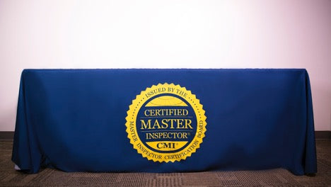 Certified Master Inspector® Tablecloth