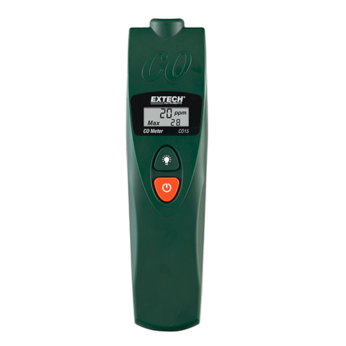 Extech CO15 Carbon Monoxide (CO) Meter