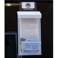 CPI Auto Window Brochure and Business Card Holder