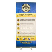 Certified Professional Inspector® Banner and Retractable Stand
