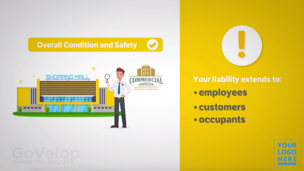 Custom Commercial Inspection Video for InterNACHI® Certified Professional Inspectors®