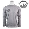 InterNACHI® Long Sleeve Pocket T-Shirt