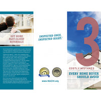 InterNACHI 3 Costly Mistakes Brochures (Pack of 50)