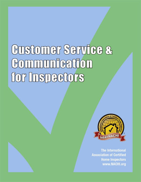 Customer Service and Communication for Inspectors PDF