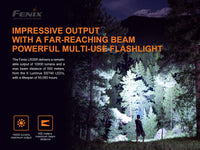 Fenix LR35R Rechargeable Flashlight