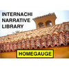 InterNACHI Narrative Library for HomeGauge