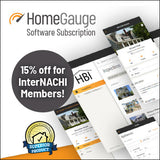 HomeGauge Home Inspection Software Annual Subscription