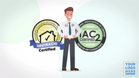 Custom-Branded IAC2 Certified Video