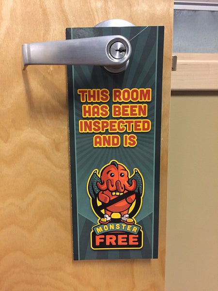 Monster Free Door Hanger (pack of 50)