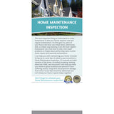 Home Maintenance Inspection Rack Card (Pack of 50)