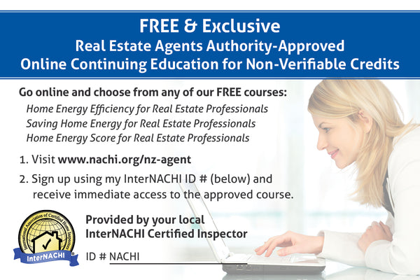 Free New Zealand Real Estate Agent Marketing Card PDF