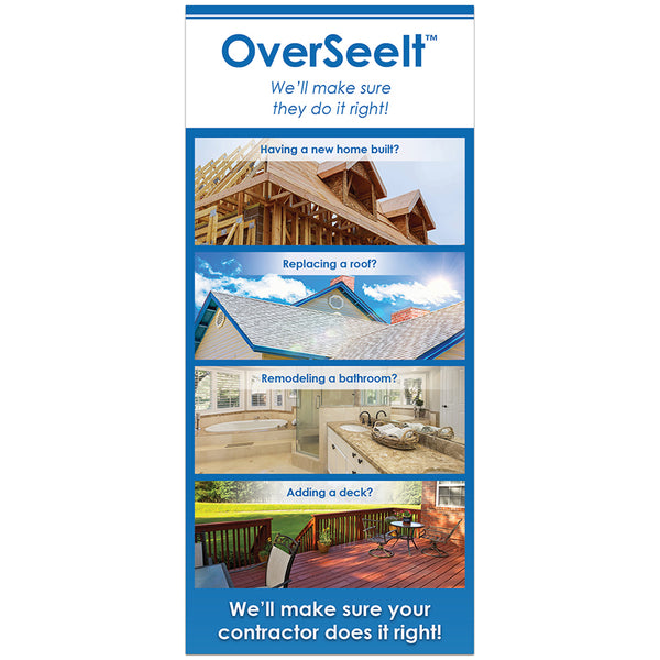 OverSeeIt Rack Cards (Pack of 50)